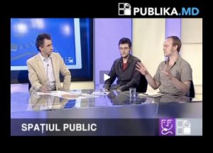 Debating Public Space in Chisinau on Publika TV 5-16-2010
