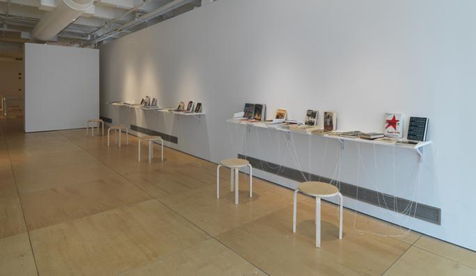 Paper Trail, 2009 (installation view).