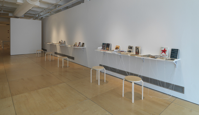 Paper Trail, 2009 (installation view).